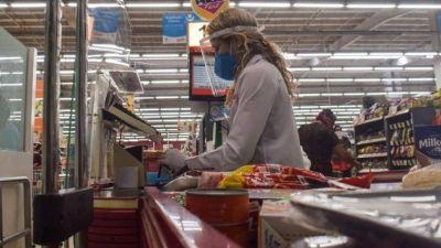 Las ventas en los supermercados cayeron 1,5% en junio
