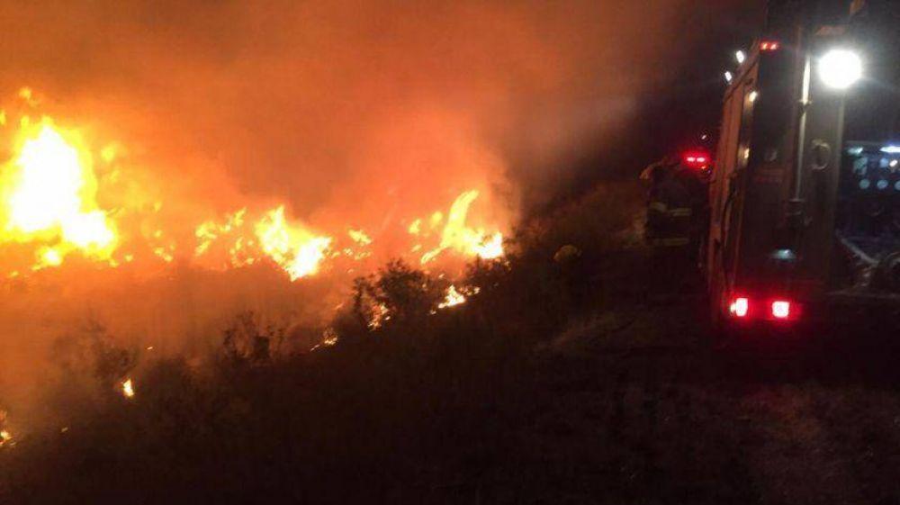 Investigan si 20 focos de incendios en el Delta fueron intencionales