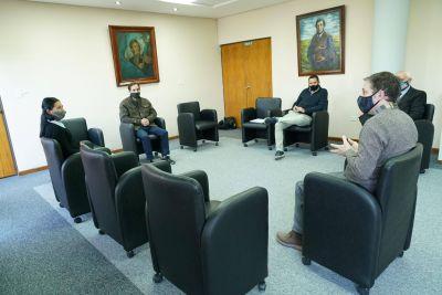 Fernando Gray se reunió con la directora nacional de economía popular