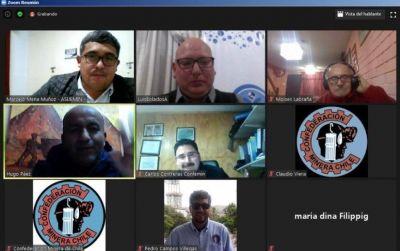 Reunión Binacional: Sindicatos mineros de Argentina y Chile analizaron varios temas de agenda