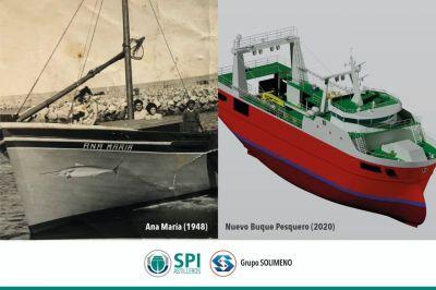 El Grupo Solimeno anuncia la construcción de un nuevo buque pesquero