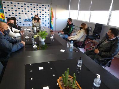 El Sindicato de Custodios se reunió con la Intendenta Municipal de Moreno