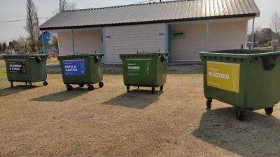 Plottier abre su primer punto verde para incentivar el reciclaje