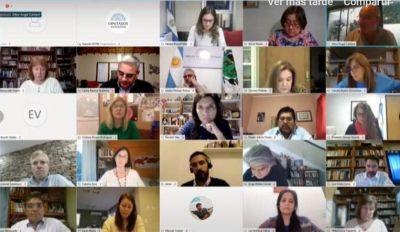 Sindicalistas y funcionarios defendieron el Convenio 190 de OIT en Diputados