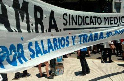 Santa Fe: Médicos anunciaron un paro de actividades de 24 horas