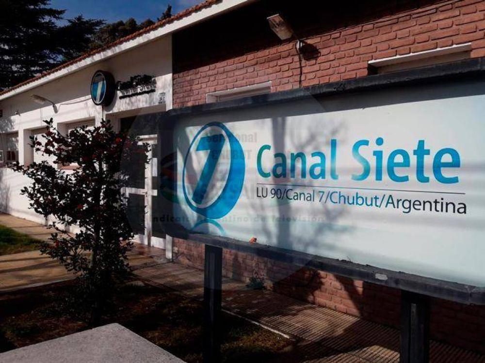 SATSAID: Canal 7 de Rawson adeuda salarios responsabilizan al Gobernador Arcioni