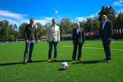 Mundo FIFA: la foto del
