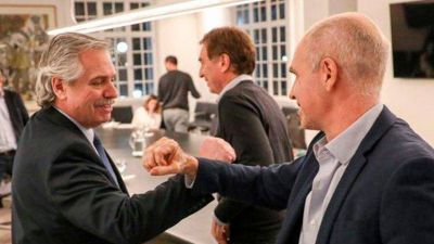Alberto Fernández y Rodríguez Larreta buscan un pacto de gobernabilidad con una agenda post COVID-19