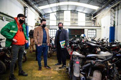 Más de 200 motos incautadas en operativos en Merlo