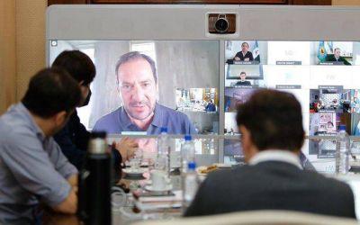 Axel Kicillof se reunió con intendentes del conurbano para evaluar la continuación de la cuarentena