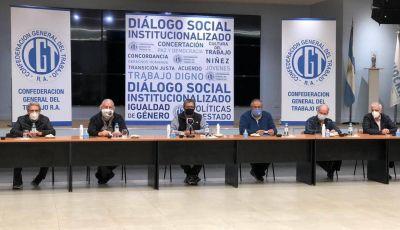 """La CGT y movimientos sociales llaman a la """"unidad nacional"""" para sacar al país de la crisis"""