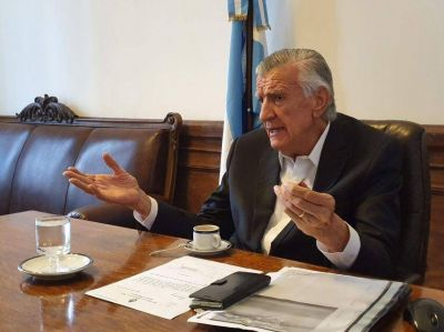 """José Luis Gioja: """"El peronismo está presente y vive"""""""