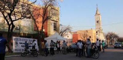 Aceiteros responde la represión a trabajadores Algodonera Avellaneda con una huelga general regional