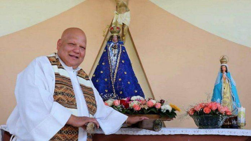 Sentida despedida al Padre Bachi que falleció por COVID 19