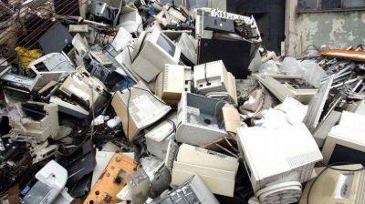 Rada Tilly busca tratar la basura electrónica