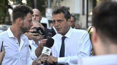 Sergio Massa pidió que el Estado desaloje a los ocupas de Villa Mascardi