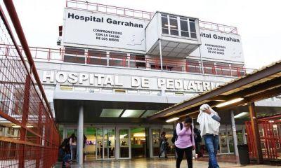 Profesionales y técnicos del Garrahan reclamarán mejores salarios y protección ante la pandemia