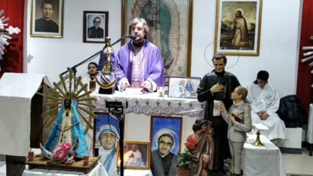 Curas villeros despiden al padre Bachi: