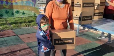 #SeamosUno: La iniciativa interreligiosa alcanzó su objetivo de un millón de cajas