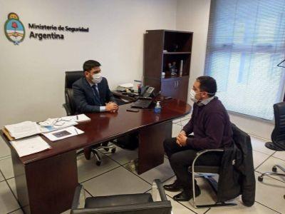 Christian López se reunió con el Subsecretario de Intervención Federal