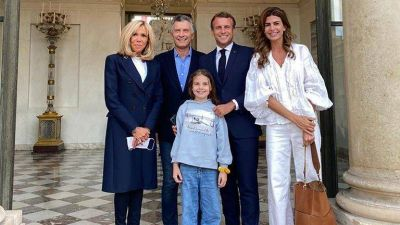Mauricio Macri se reunió con Emmanuel Macron y analizaron el impacto del coronavirus sobre las libertades individuales