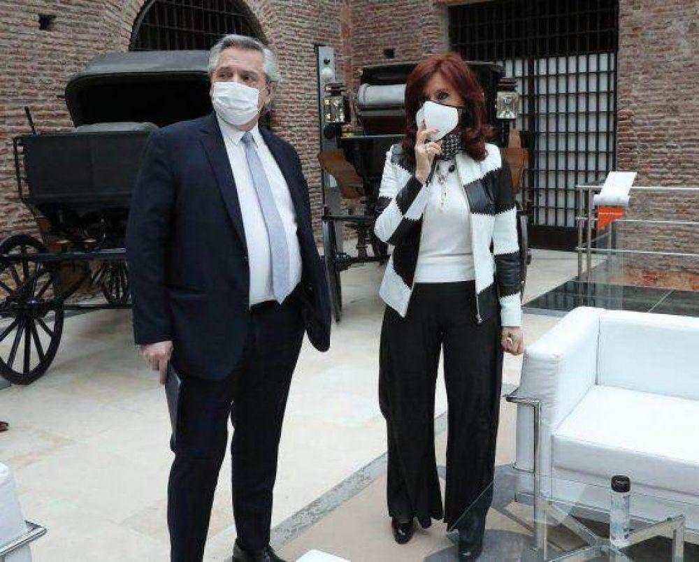 El cafecito de Alberto, CFK y Guzmán: primavera recargada con deuda, dólar, impuestos y presupuesto