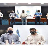 El Sindicato de Custodios distribuye termómetros digitales en el Chaco