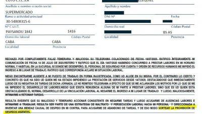 COTO: Cyberespionaje y engaños para despedir empleados con