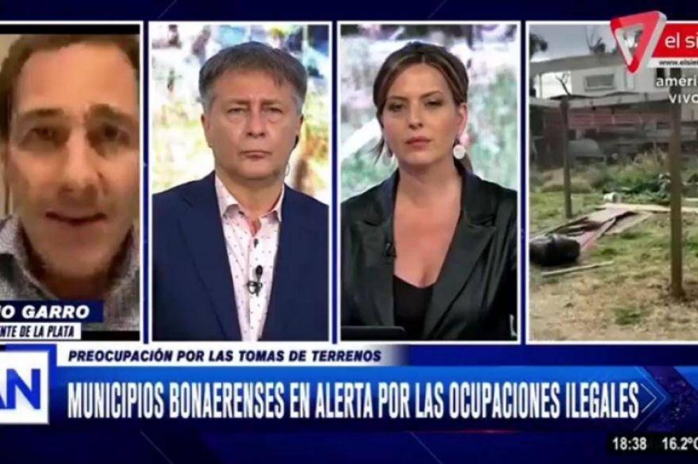 Garro pide a Nación y Provincia definiciones sobre las usurpaciones a la propiedad privada