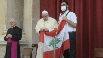 El Papa invita a una jornada de oración y ayuno por el Líbano