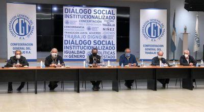 La CGT le demandó responsabilidad a la oposición y que pacifique a