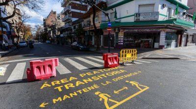 Con cortes de calles, la Ciudad sumará 15 áreas peatonales los fines de semana