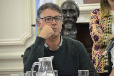 """Andrade atacó a VJ: """"Llevan la tarea parlamentaria como si fuera una escribanía"""""""