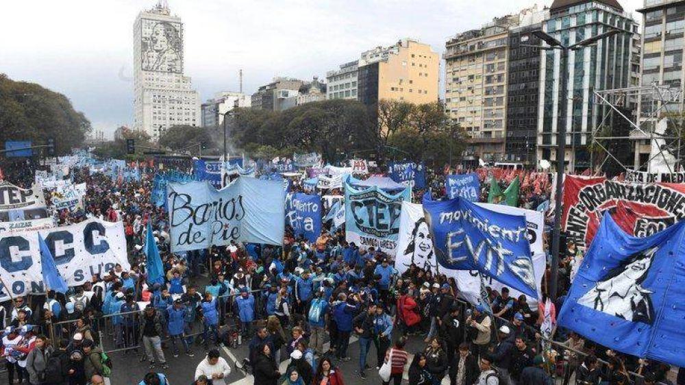 """Las organizaciones sociales salieron al cruce de la acusación de Sergio Berni por la toma de tierras: """"La falta de vivienda no se resuelve con balas"""""""
