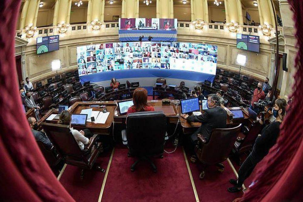 En una sesión especial, el Senado debate el DNU de servicios de telecomunicaciones