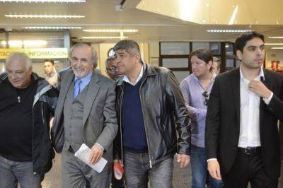 Pablo Moyano gambeteó la indagatoria y mostró su músculo sindical