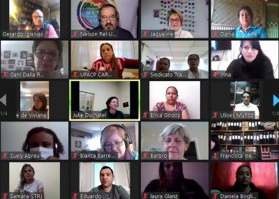 Mujeres sindicalistas, de la indignación a la lucha