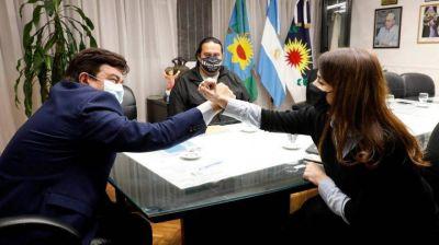 Espinoza y Donda acordaron la creación de una subdelegación del INADI en La Matanza