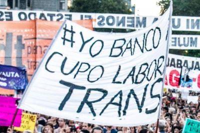Cupo laboral trans en el Estado: por decreto será del 1 por ciento