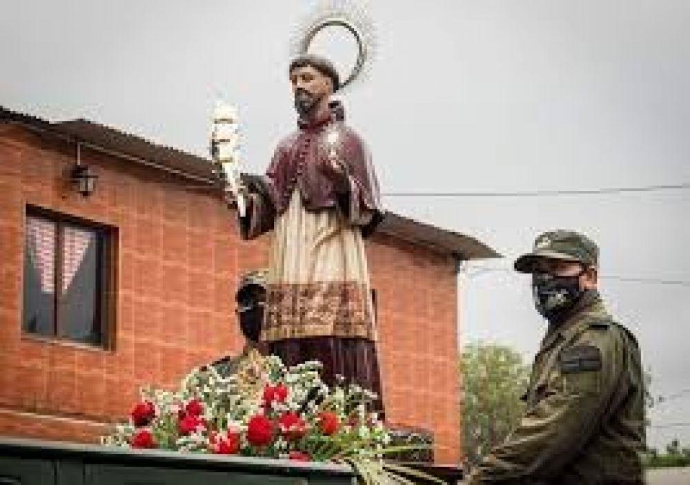 El obispo de Orán aseguró que la procesión con San Ramón cumplió los protocolos