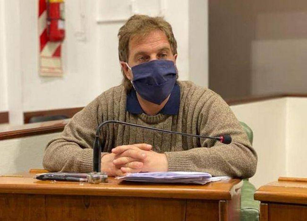 Marcos Cianni pide que afiliados de PAMI y de IOMA tengan un sector asignado en el Hospital Municipal