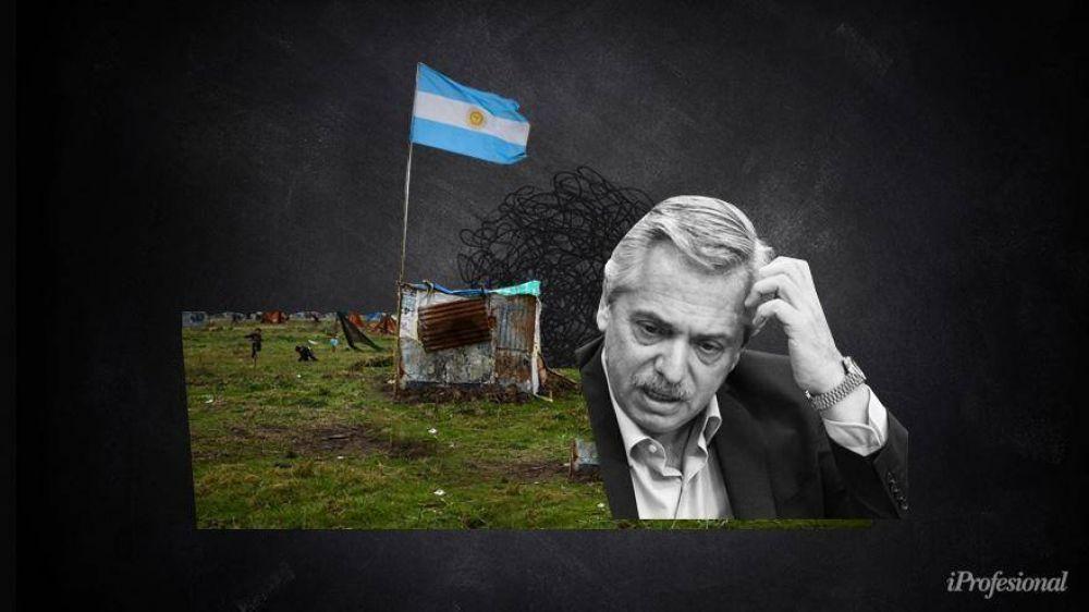¿Las tomas ya son irreversibles?: Alberto, ante la disyuntiva de dar una solución sin recurrir a la represión policial