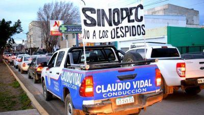 Petroleros frena los 400 despidos en Sinopec y acuerda nuevas perforaciones