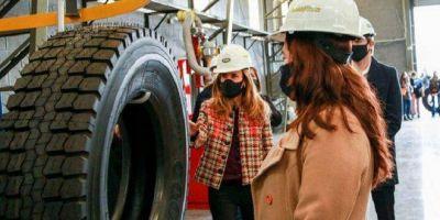 Con una inversión de $ 100 millones, reabrió planta de reconstrucción de Neumáticos para Goodyear cerrada durante el macrismo