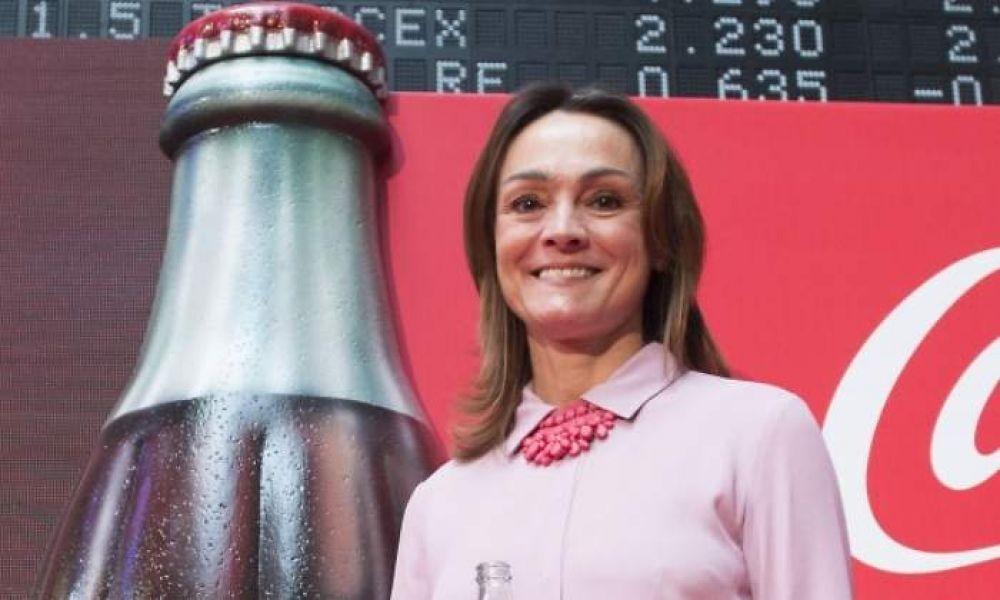 La jefa de Coca-Cola ingresa 26,7 millones en Luxemburgo y gana 50 veces más