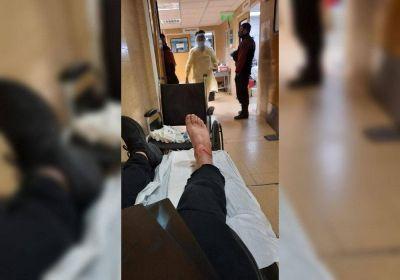 Tiros y escándalo en el Puerto: un estibador resultó herido de bala