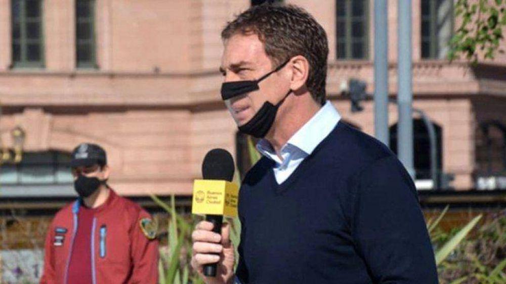 Pese a las críticas de la administración de Axel Kicillof, el Gobierno porteño afirmó que seguirá con su plan de reaperturas en cuarentena