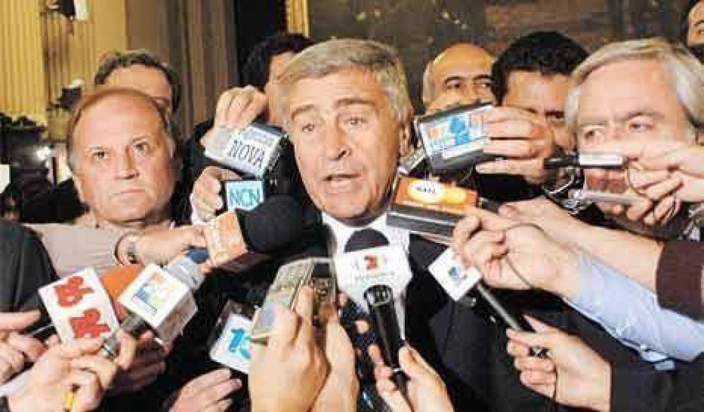 """Aguad: """"Hay que dictar una nueva ley de medios"""""""