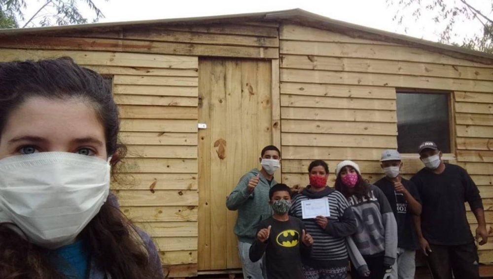 La ONG Techo hace su colecta para los 153 barrios populares de La Plata