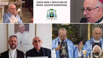 Último adiós en Mercedes a Mons. Radrizzani, el obispo que creyó en el Amor